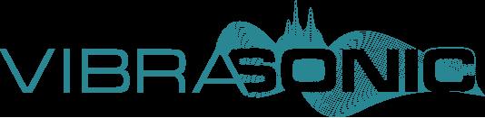 Vibrasonic logo for Holistic audio website Sensory Solutions uk