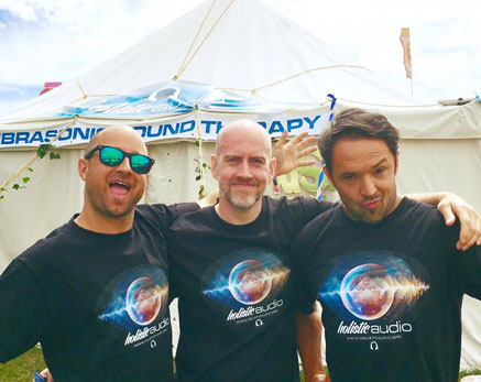 paul Ant and Seb Camp bestival pic Festival and events Sensory Solutions Holistic audio Bournemouth UK